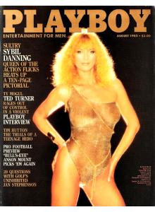 Списание Playboy 1983-08