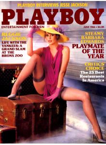 Списание Playboy 1984-06