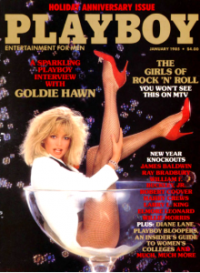 Списание Playboy 1985-01