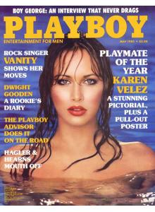 Списание Playboy 1985-05