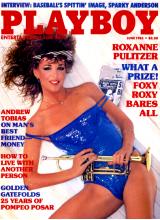 Списание Playboy 1985-06