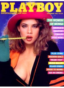 Списание Playboy 1985-11