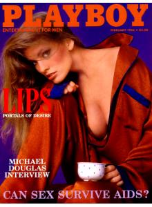 Списание Playboy 1986-02
