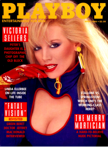 Списание Playboy 1986-04