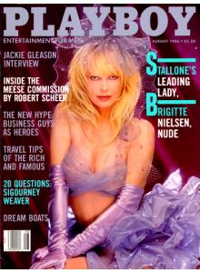 Списание Playboy 1986-08