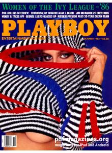 Списание Playboy 1986-10