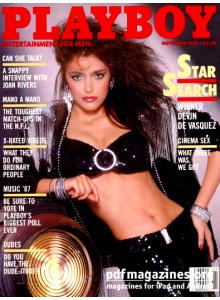 Списание Playboy 1986-11