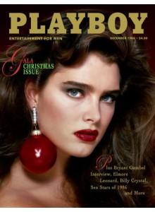 Списание Playboy 1986-12