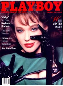 Списание Playboy 1987-02