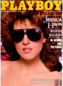 Списание Playboy 1987-11