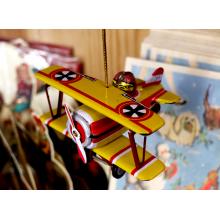 Kоледна Украса | Biplane Yellow