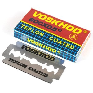 Pack of 5 Voskhod Double Edge Blades Distributed by Parker