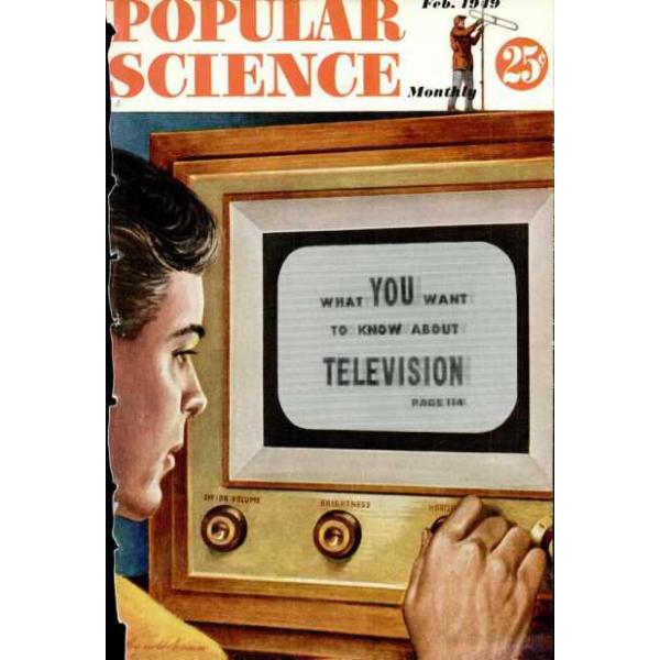 1949-02 Popular Science Magazine 1