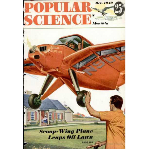 1949-10 Popular Science Magazine 1