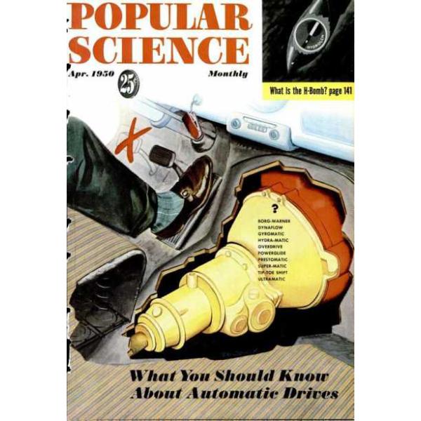 1950-04 Popular Science Magazine 1