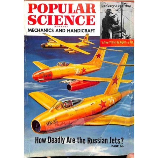 1951-01 Popular Science Magazine 1