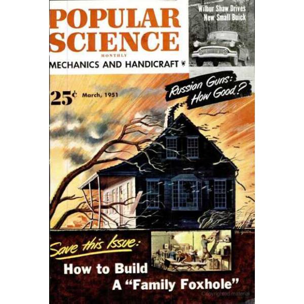 1951-03 Popular Science Magazine 1