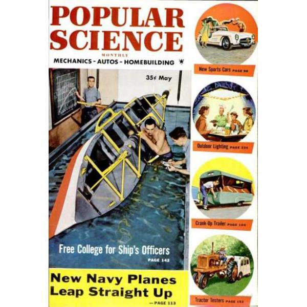 1954-05 Popular Science Magazine 1
