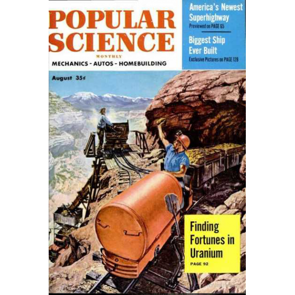 1954-08 Popular Science Magazine 1