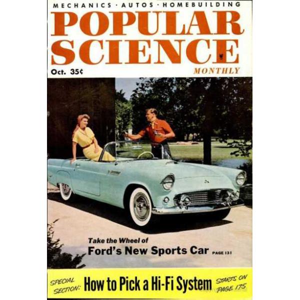 1954-10 Popular Science Magazine 1