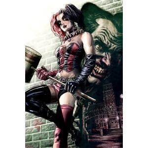 Плакат Batman Harley Quinn