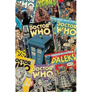 Плакат DR WHO Comics