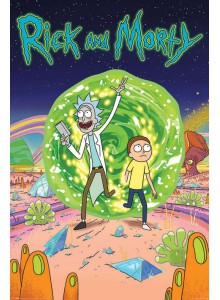 Плакат Rick and Morty Portal