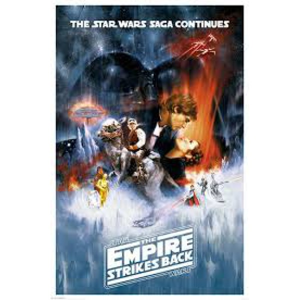 Плакат STAR WARS The Empire Strikes Back 1