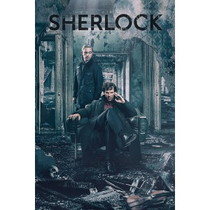 Плакат Sherlock Destruction