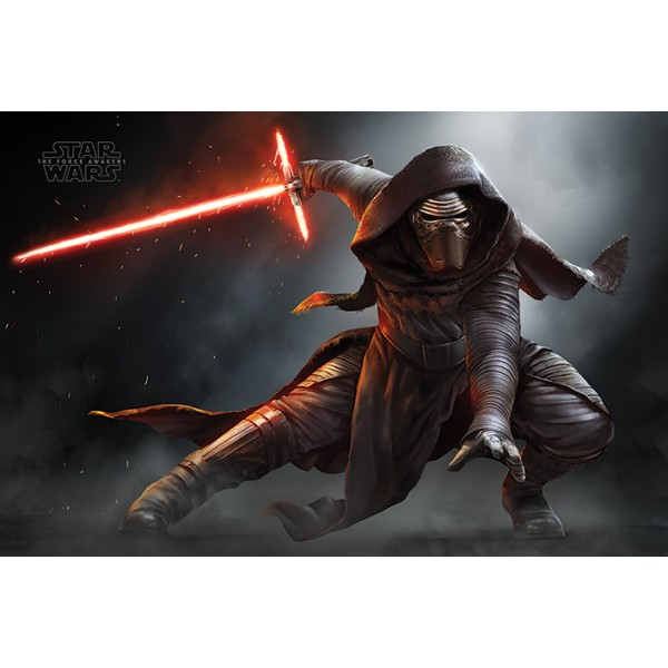 Плакат Star Wars Episode VII Kylo Ren Crouch  1