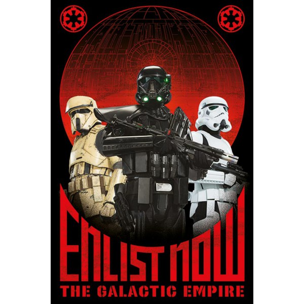 Плакат Star Wars Rogue 1 1