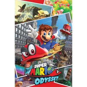 Плакат Супер Марио Odyssey