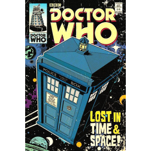 Poster Dr Who Lost InTime