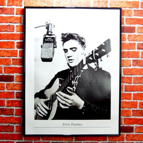 Elvis Presley Fine Art Print   Recording Studio 1