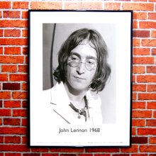 John Lennon Fine Art Print | Black and White