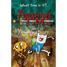 Плакат ADVENTURE TIME