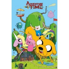 Плакат ADVENTURE TIME House