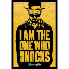 Плакат Breaking bad I Am the One Who