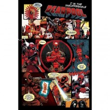 Плакат DEADPOOL Panels