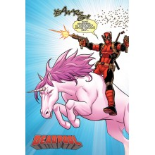 Плакат Deadpool Unicorn