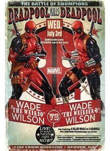 Плакат DEADPOOL Wade vs Wade