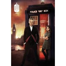 Плакат DR WHO London fire