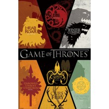Плакат GAME OF THRONES