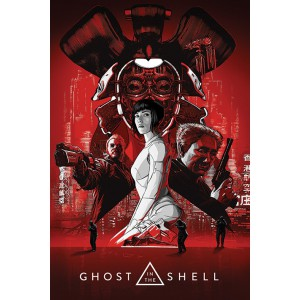 Плакат Ghost in the Shell