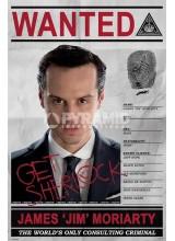 Плакат SHERLOCK Wanted