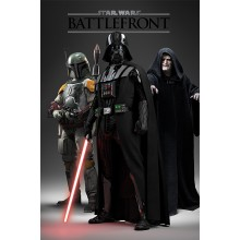 Плакат Star Wars Battlefront Dark Side
