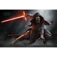 Плакат Star Wars Episode VII Kylo Ren Crouch