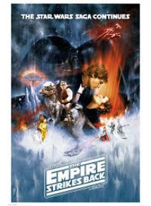 Плакат STAR WARS The Empire Strikes Back