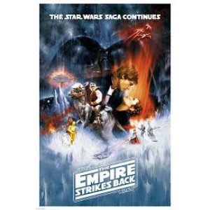 Плакат STAR WARS The Empire Strikes Back