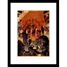 Плакат в рамка Mos Eisley Cantina